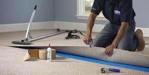 Photo #2: Carpet and laminate flooring installation