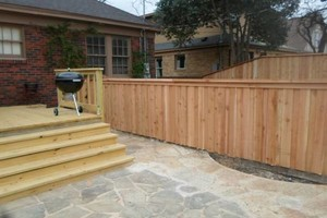 Photo #1: FENCE, GATES AND DECK (Dallas)