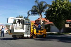 Photo #1: Local Machinery Transportation and Moving Service