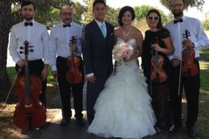 Photo #4: Bravo String Quartet, Violinist for Weddings and other Special Occasions