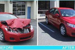 Photo #2: Mobile Auto Body And Paint - just hit your car - call!