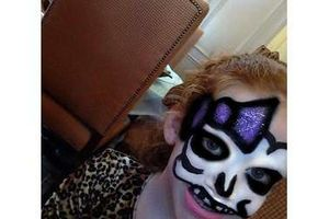 Photo #3: Professional, Experienced Certified Face Painter at your Service