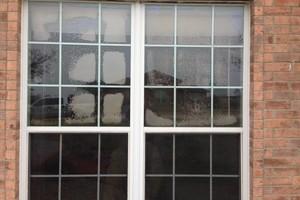 Photo #1: FOGGY WINDOW OR BROKEN GLASS?
