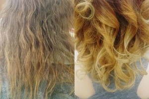 Photo #1: $60 Weaves full and partial, $60 color - deals
