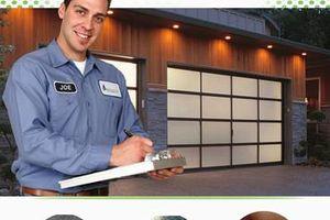 Photo #1: CHEAP Garage Door Repair & Gate Repair