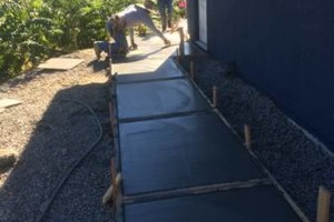 Photo #2: Quality custom concrete finishing/stamping