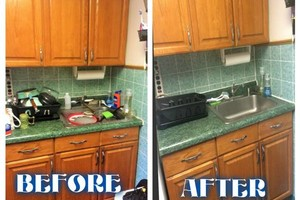 Photo #6: CLEAN HOME IS A HAPPY HOME! Bathtub, cabinet exterior, mopping of floors....