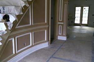 Photo #5: Laminate floors, moldings...