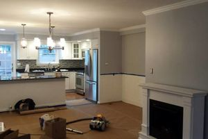 Photo #19: Laminate floors, moldings...