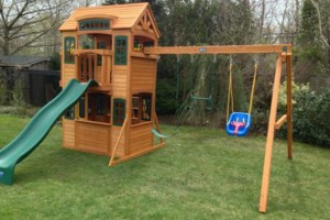 Photo #1: Swing Set Installations. The Best In The Tri-State Area