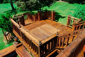 Photo #1: Fairfield County. Decks pavers and custom woodworking