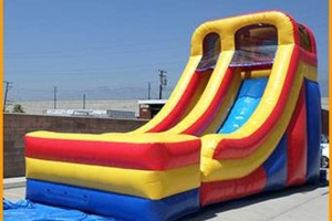 Photo #1: Bouncer all day rental $149.00! Water Slides, tables, chairs, tents