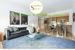 Photo #1: Spotless Spaces Cleaning