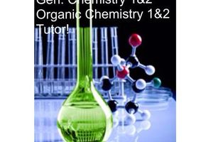 Photo #1: Organic Chemistry 1 & 2 tutor lessons