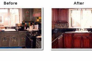 Photo #1: Wood Furniture Repair/Refinishing - Kitchen Cabinets > Bedroom...