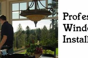 Photo #1: Window Installation Services - Window Installs- Custom Work