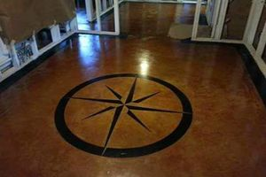Photo #18: Stained Concrete