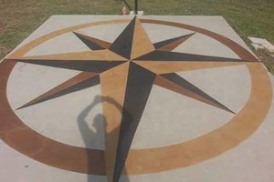 Photo #1: Stained Concrete