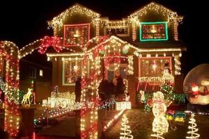 Photo #1: Christmas lights installation!!!
