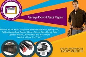 Photo #1: Payless Garage Door Repair & Gate Repair