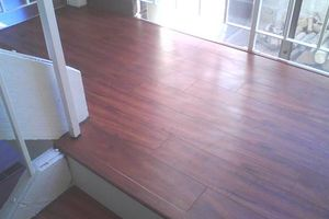 Photo #1: Laminate Flooring $300/day