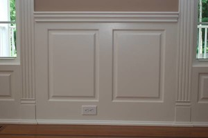 Photo #3: Wainscoting Installation
