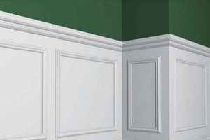 Photo #2: Wainscoting Installation