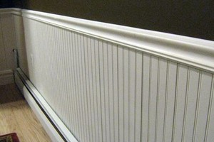 Photo #1: Wainscoting Installation