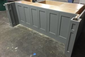 Photo #2: CABINET, DOORS MADE DOVTAIL, DRAWERS MADE