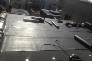 Photo #2: Roofing (we specialize in stopping leaks torch down, cleaning), call now...