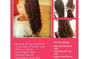 Photo #1: BRAIDS BY ANTOINETTE