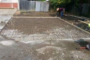 Photo #3: Patio's, Slab's, Driveway's. We Do It All. Give Us A Call For Best Price!