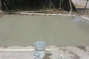 Photo #2: Patio's, Slab's, Driveway's. We Do It All. Give Us A Call For Best Price!