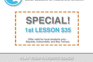 Photo #1: BAYSIDE MOBILE GUITAR LESSONS - I'LL COME TO YOU!