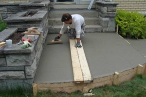 Photo #3: ANY CONCRETRE WORK & LAWN CARE. FREE ESTIMATES!!!!!