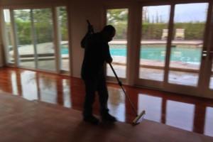 Photo #1: Sanding and refinishing hardwood floors