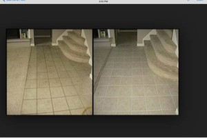Photo #2: Carpet cleaning. STEAMWAY