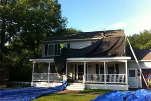 Photo #1: Wicked Smart Exteriors Roofers