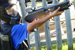 Photo #19: Kids Paintball Party Fun at Your Place!