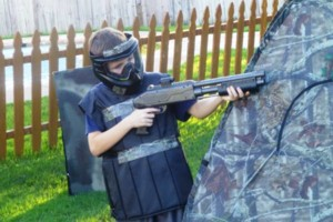 Photo #15: Kids Paintball Party Fun at Your Place!