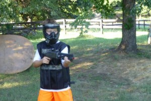 Photo #11: Kids Paintball Party Fun at Your Place!