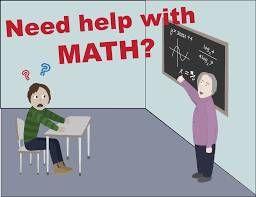 Photo #1: Math? I can teach you!!!