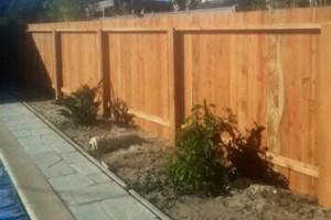 Photo #9: Free estimate for your Fence Installation! LANDAS FENCE! Wood, Vinyl, Chainlink!