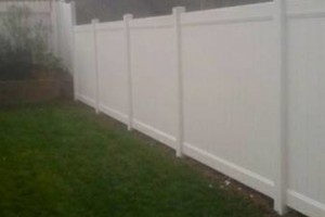 Photo #5: Free estimate for your Fence Installation! LANDAS FENCE! Wood, Vinyl, Chainlink!