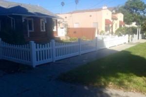 Photo #4: Free estimate for your Fence Installation! LANDAS FENCE! Wood, Vinyl, Chainlink!