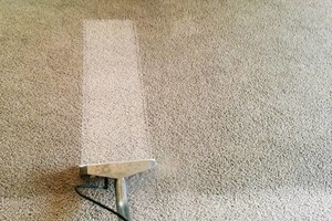 Photo #1: CARPET CLEANING DONE RIGHT. $18 PER ROOM. Carpet & UpholsteryCare