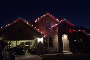 Photo #2: Christmas Lights Custom Install