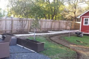 Photo #1: Bahenas Landscaping - Flower beds, stone retaining walls, Mulch