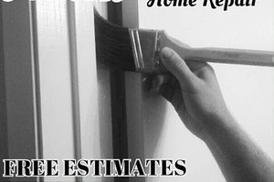 Photo #7: FREE ESTIMATES: Paint, Crown Molding, Siding, AND MUCH MORE!