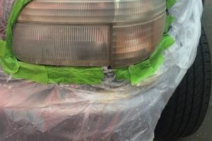 Photo #3: Headlight restoring by Mike